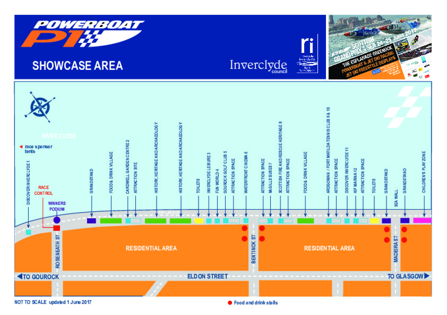 Inverclyde Showcase Map