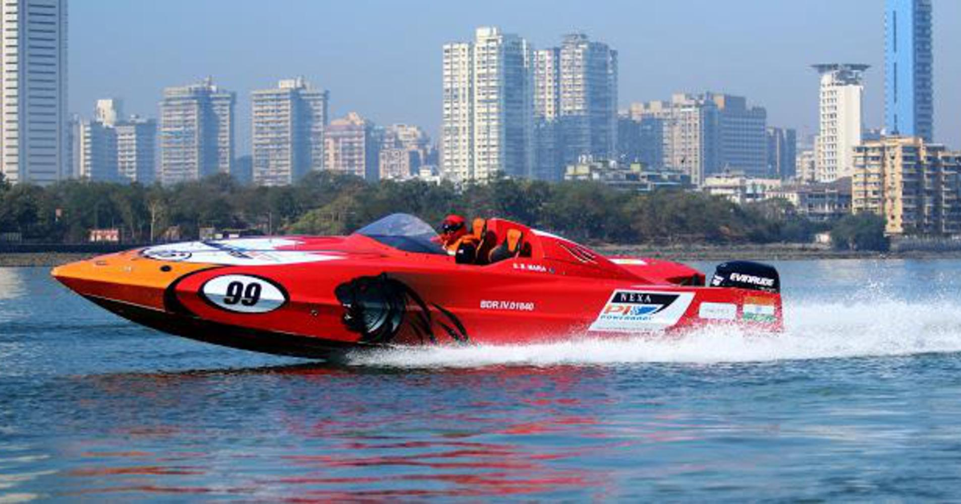 Mumbai will play host to the NEXA P1 Powerboat Indian Grand Prix of the Seas