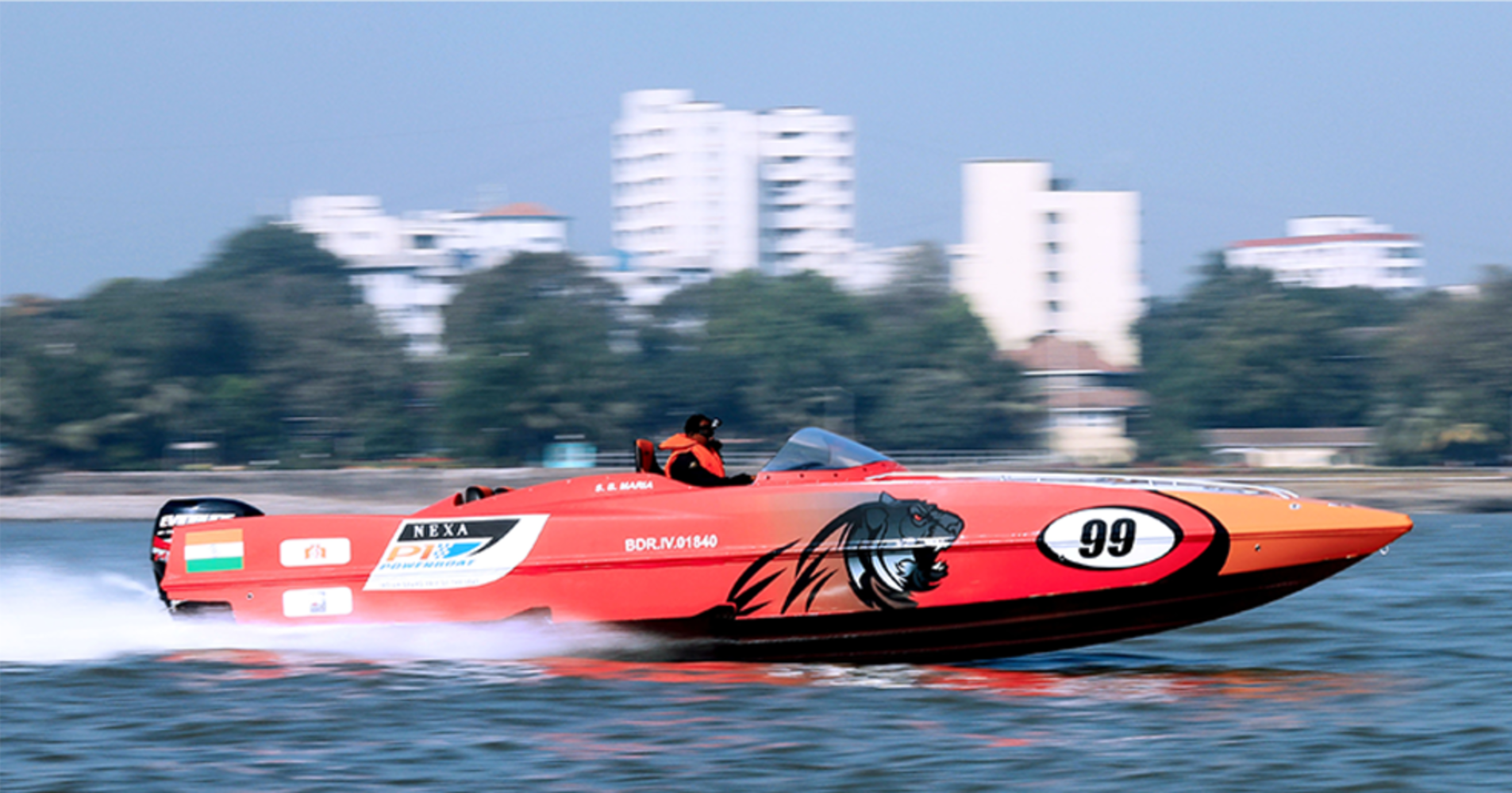 The P1 Panthers will be unleashed in Mumbai at the NEXA P1 Powerboat Indian Grand Prix of the Seas