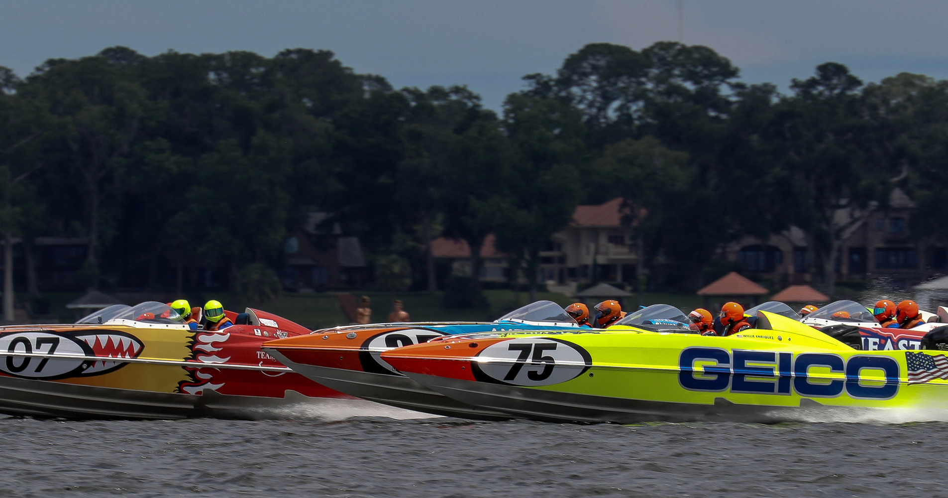It was another excellent day of racing in Jacksonville