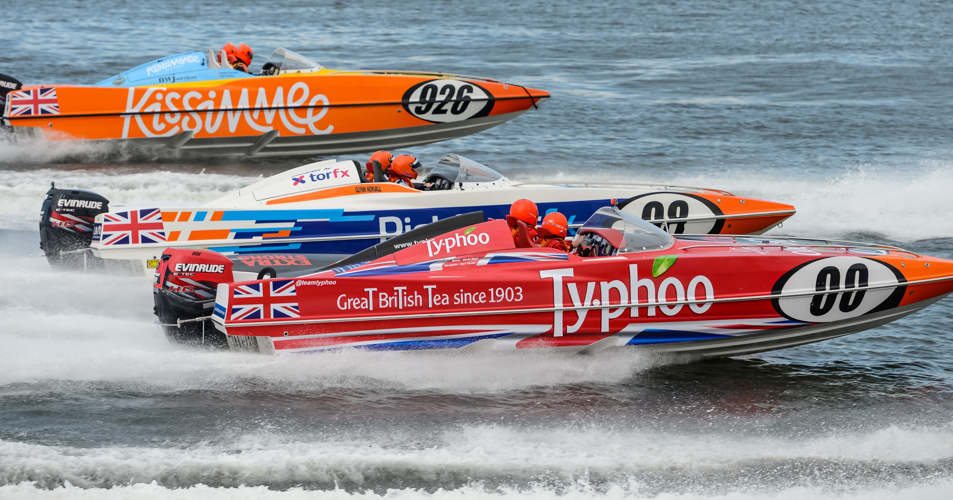 There was some close racing as the teams competed in a number of heats across the day