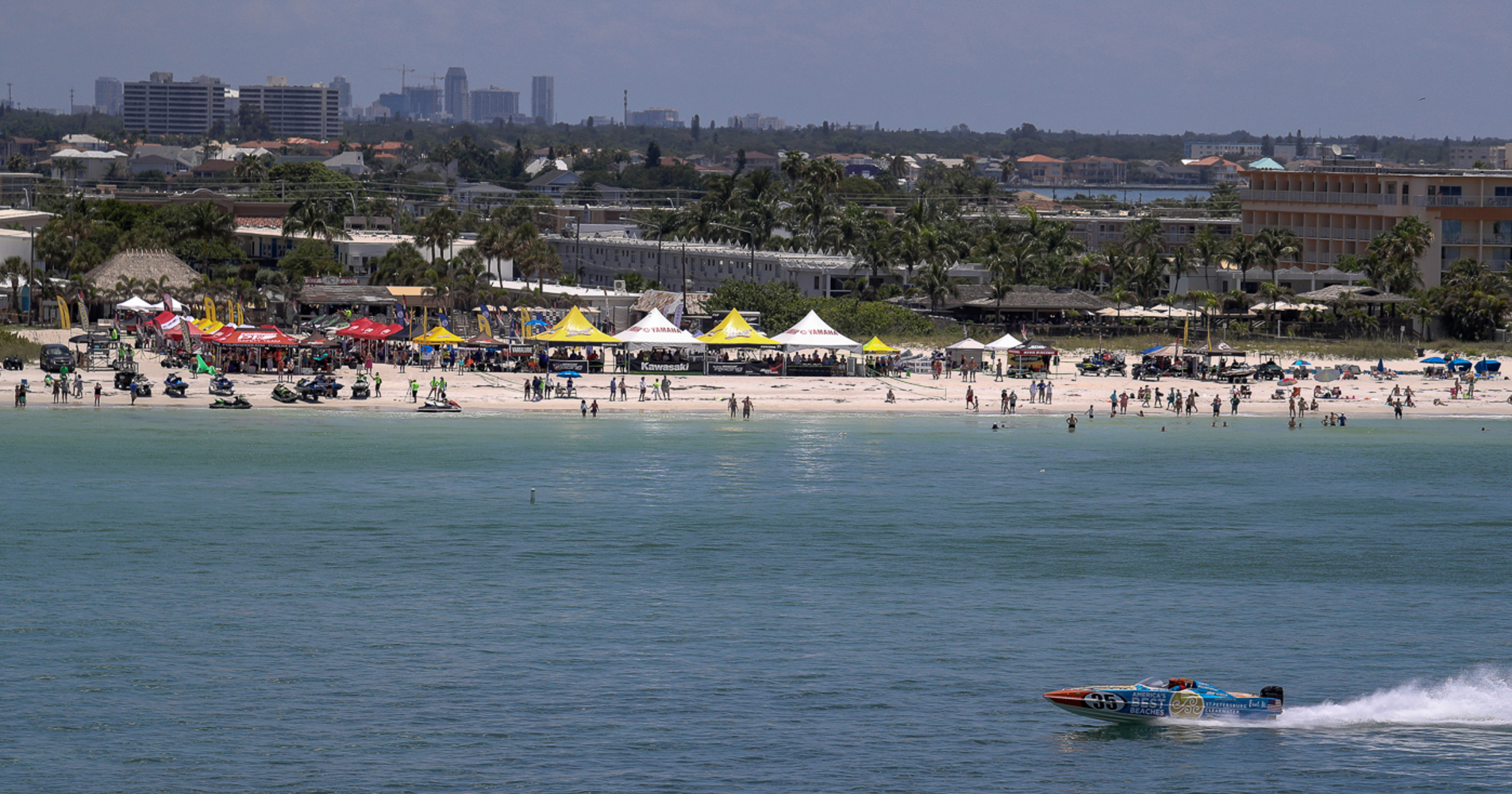St Pete Beach is one of four venues to hold its place on the calendar in 2018