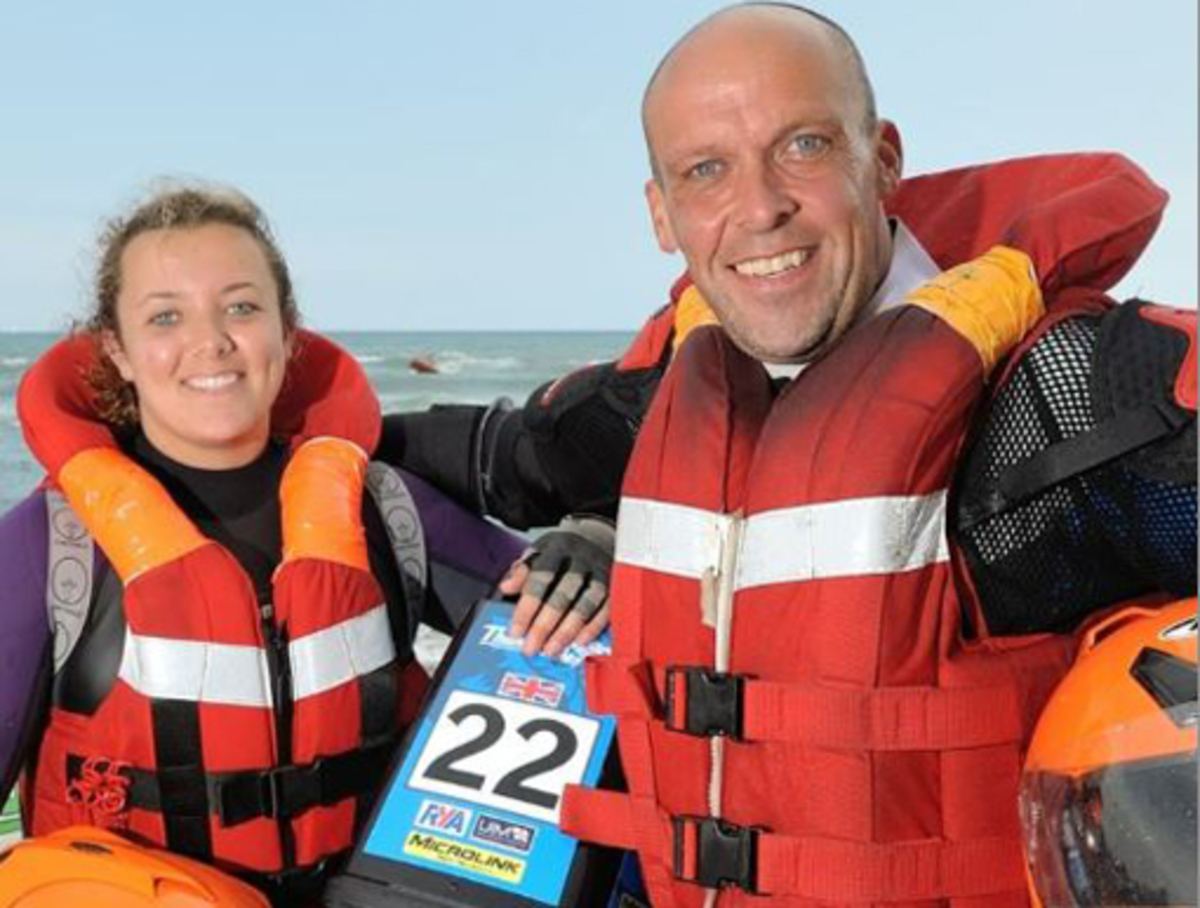 Dave and Ashleigh Finlayson will take over as driver and navigator of the Spirit of Inverclyde
