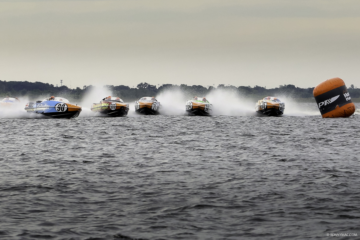 Unbelievable shot of the action on Lake Toho!