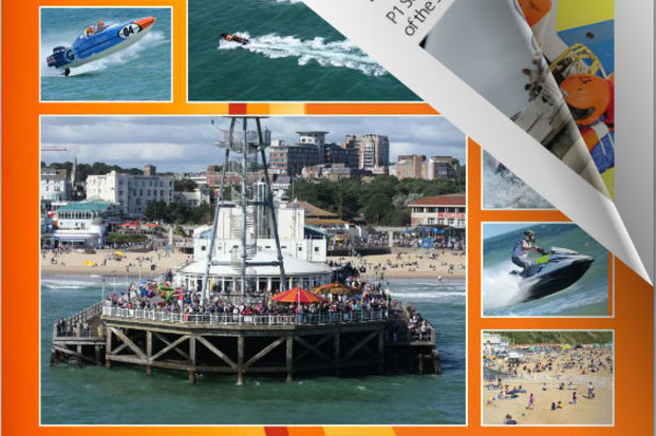 Click for the Bournemouth Race Report Flip Book