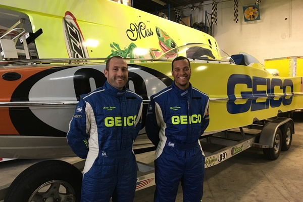 Miss Geico Racing's Craig Wilson (left) and Micah Paul (right) make their P1 SuperStock debut in Tavares
