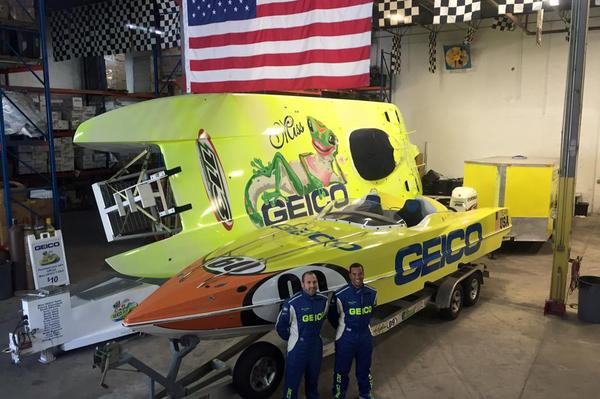 Team GEICO: Micah Paul and Craig Wilson
