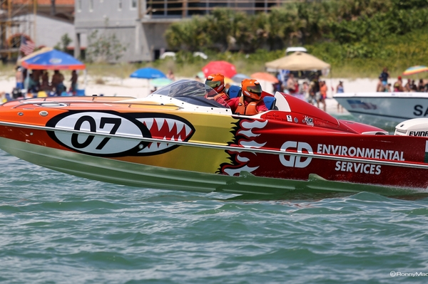 2015 P1 SuperStock USA champions GD Environmental in Sarasota