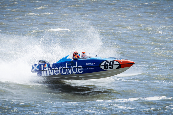 The Inverclyde P1 Panther powerboat gets a run out