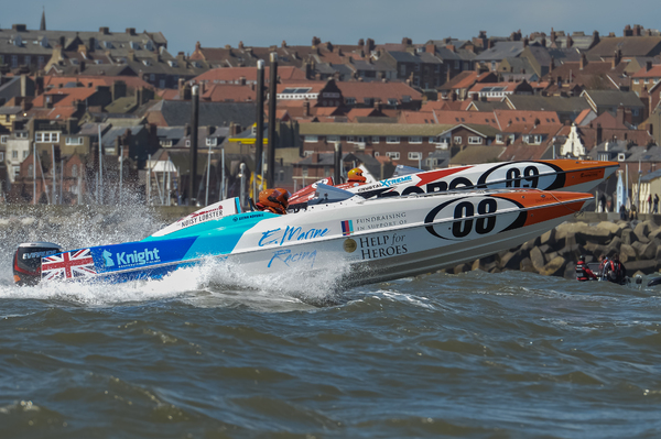 E.Marine go head-to-head with leaders Quantum Racing in Scarborough