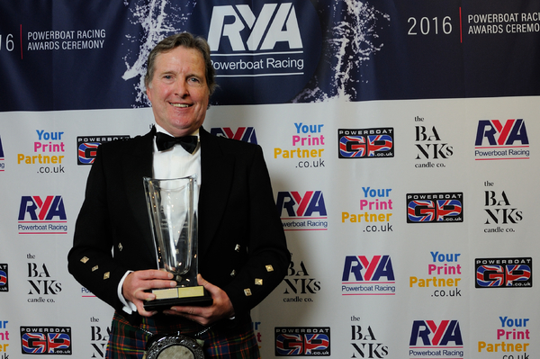 Neil Lochiel picked up an award on behalf of Inverclyde Council and Riverside Inverclyde