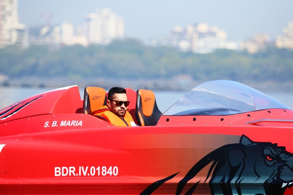 Gaurav Gill is set to make his mark in powerboat racing