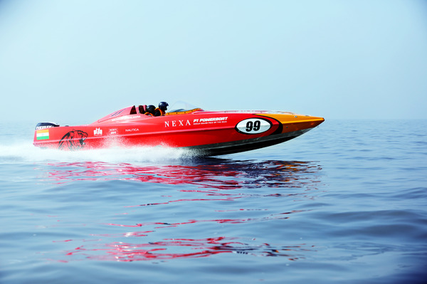 The NEXA P1 Powerboat Indian Grand Prix of the Seas