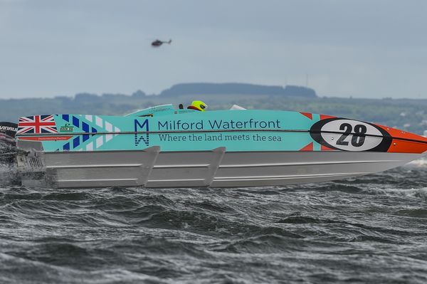 Milford Waterfront claimed their first P1 SuperStock victory in Greenock