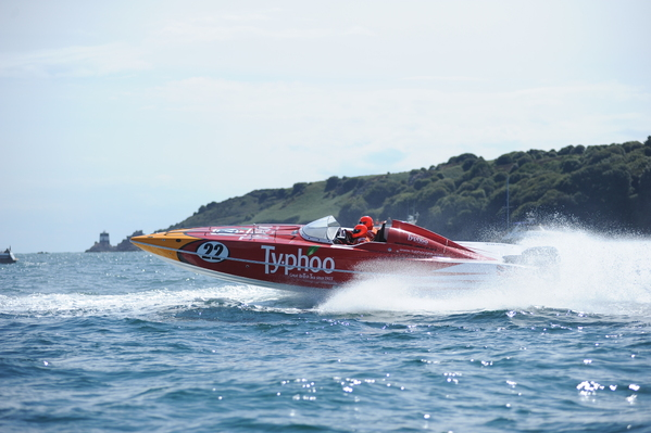 Andy WIlby in Typhoo