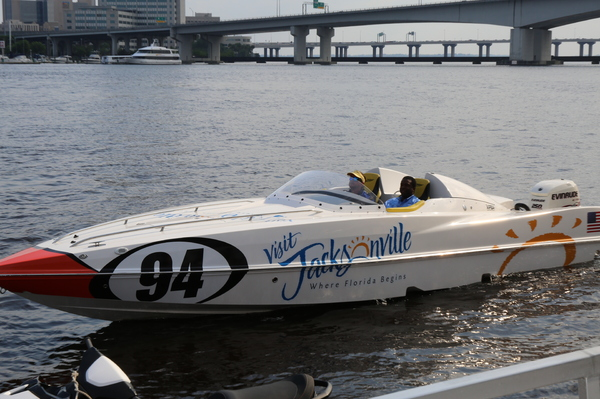 The 'Visit Jacksonville'boat makes its debut in Stuart this weekend
