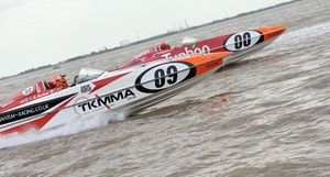 Quantum Racing battle it out with Typhoo