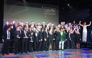 The 2015 UIM Champions gathered on stage at the end of the evening.