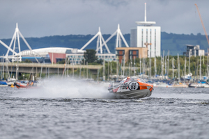 <strong>Quantum Racing</strong> leaps into second in title race after victory in the Bay