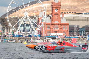 Visit Wales on home turf as they cruise around Cardiff Bay