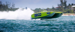 Miss Geico in action – photo courtesy of Ronnymac