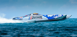 222 Offshore Class 1 Team from Australia – photo courtesy of Pete Boden