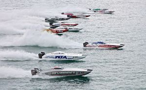 Boats in action                                                                                         Photo Credit: Pete Boden / Speedonthewater.com