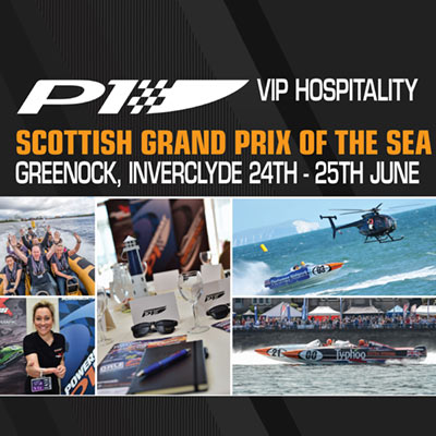 Picture of VIP Tickets for the Scottish Grand Prix of the Sea, Greenock