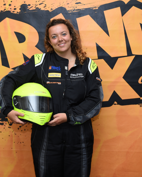 Ashleigh Finlayson - P1 Superstock Race Crew Member