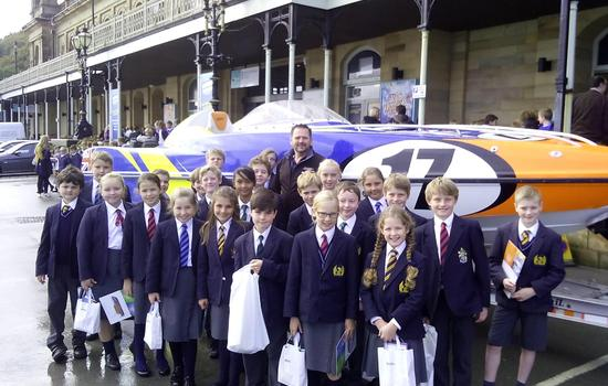Youngsters get up to speed with P1 technology