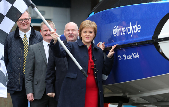 First Minister praises first-ever Scottish Grand Prix of the Sea in 2016