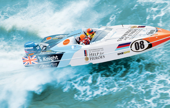 New P1 Superstock powerboat team to race in support of Help for Heroes charity