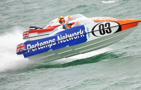 Pertemps and Scarborough Borough Council Crowned Winners of the Inaugural RYA Powerboat Racing Industry Partner Awards