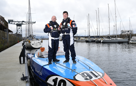 Team Inverclyde takes to the water