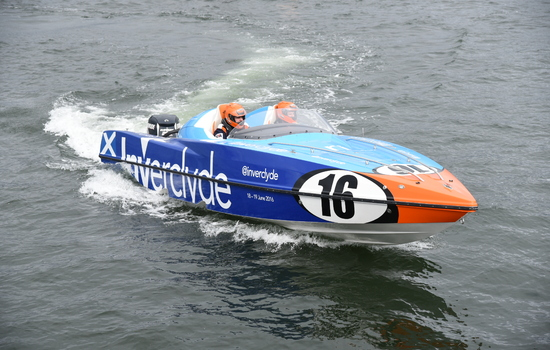 Greenock to host inaugural P1 Scottish Grand Prix of the Sea