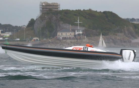 <strong>P1 Puma RIB</strong> grabs third in debut outing