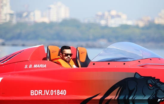 Rally Drivers <strong>Gill</strong> and <strong>Santosh</strong> to pilot at the Nexa P1 Powerboat Indian Grand Prix of the Seas