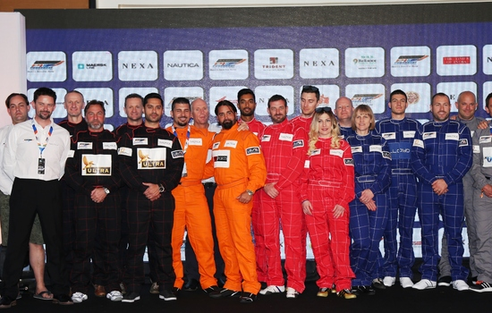 Six teams and the world&#8217;s best unveiled for Inaugural <strong>NEXA P1 Powerboat Indian Grand Prix of the Seas</strong>