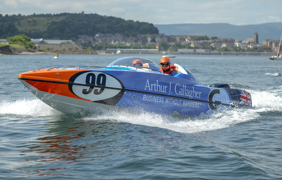 <strong>Arthur J. Gallagher</strong> continues its team sponsorship with P1 SuperStock