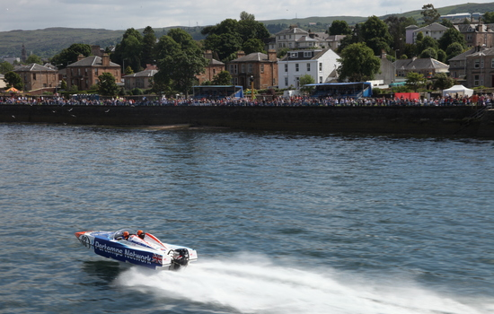 P1 to stage its <strong>500th</strong> race in Scotland when racing returns to the <strong>River Clyde</strong>