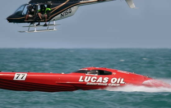 Former P1 powerboat racer in <strong>world speed record</strong> attempt