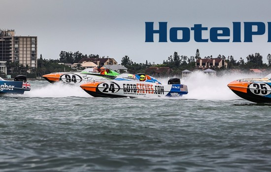 CO-FOUNDER AND CEO OF HOTELPLANNER.COM TIM HENTSCHEL SPEAKS SPORT SPONSORSHIP AND POWERBOAT P1