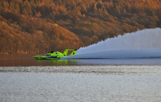 Peters & May Roars into the Record Books at Coniston in Mike Lovell Tribute
