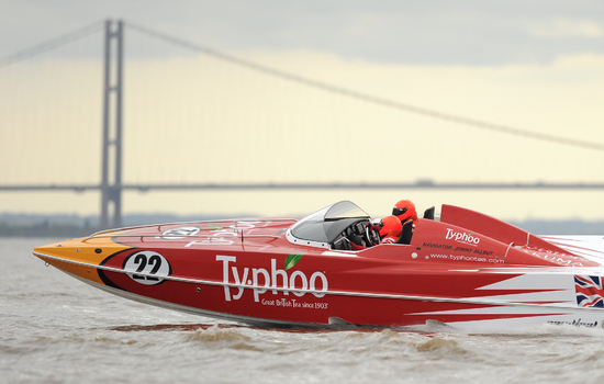 Hull Business Group Unveil P1 Panther Powerboat For 2013 SuperStock Championship